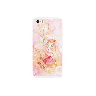 お花の傘 Smartphone cases