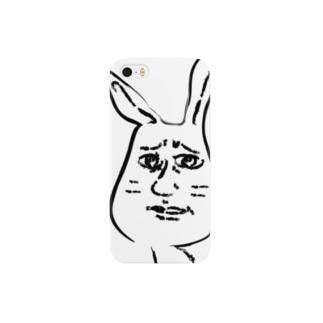 気持ち悪いウサギ スマートフォンケース