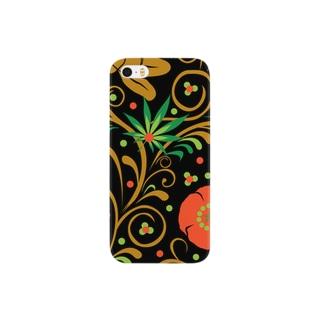 ロシアン柄 Smartphone cases