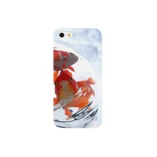 ふくろ金魚16 Smartphone cases