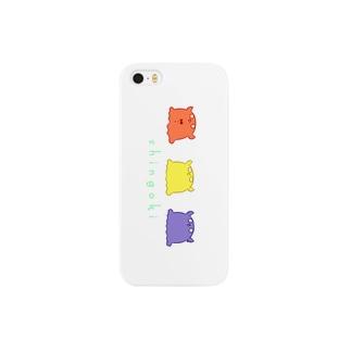 信号機メンダコちゃん Smartphone cases