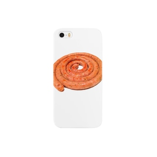 Ujackのぐるぐるソーセージ♪ Smartphone cases