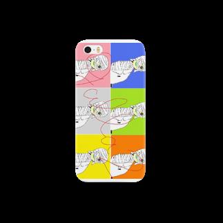 ぎゃらび商会のカラフル Smartphone cases