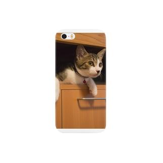 押入れ猫 Smartphone cases