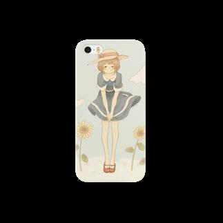 *momochy shop*の*なつのこ* スマートフォンケース
