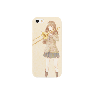*momochy shop*の*トロンボーン* Smartphone cases