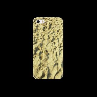 アシベズヘアの砂丘 Smartphone cases