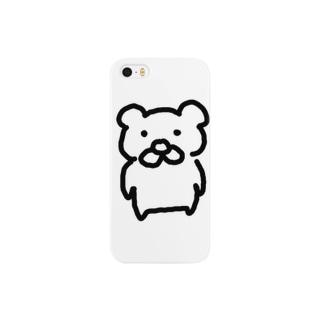 くま1号 Smartphone cases