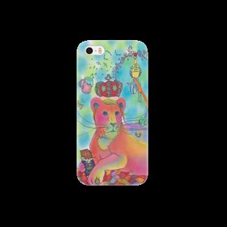 necohair.のライオン Smartphone cases