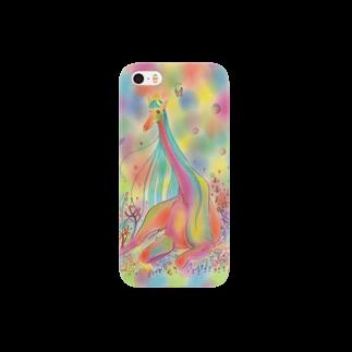 necohair.のキリン Smartphone cases