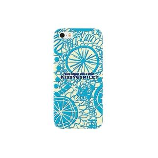 Kissy@Smiley/Kukkasuunnittelijat green blue Smartphone cases