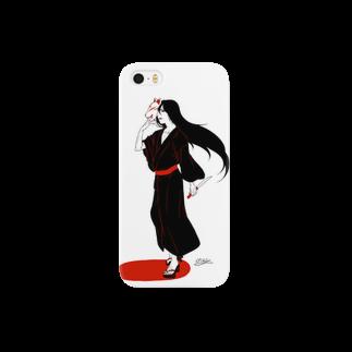 クルス†の狐面タナトス Smartphone cases