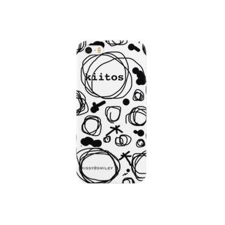 Kissy@Smiley/Kiitos White Smartphone cases