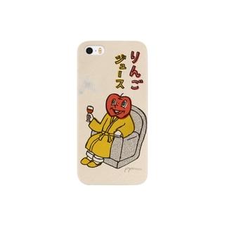 りんごジュース スマートフォンケース