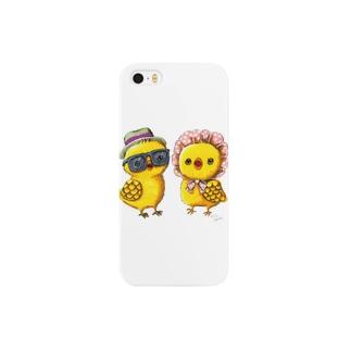 ヒヨオとヒヨコ Smartphone cases