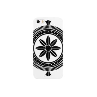 家紋 加納輪宝 Smartphone cases