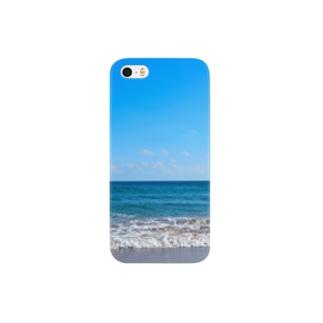 波打ち際 Smartphone cases