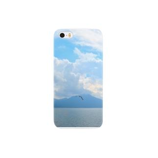 かもめが飛ぶ Smartphone cases