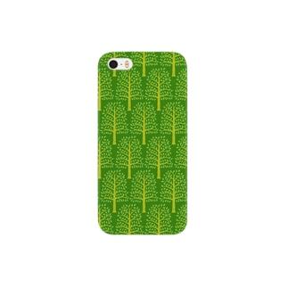 forest pattern スマートフォンケース