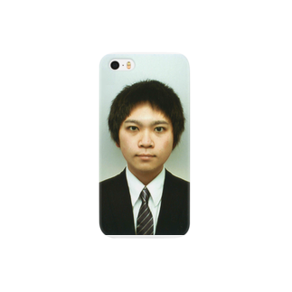 joytomoのjoytomo証明写真 スマートフォンケース