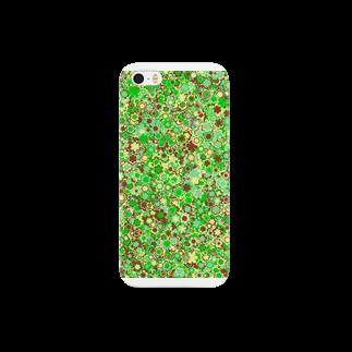 レオナのCamouflage(Flower) スマートフォンケース