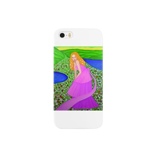 花のひと Smartphone cases