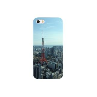 東京tower Smartphone cases