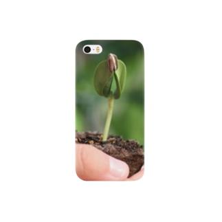 ひまわりの芽 Smartphone cases