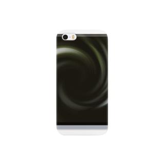 電磁波カット/宇宙効果SpaceArt「音なき世界」 スマートフォンケース
