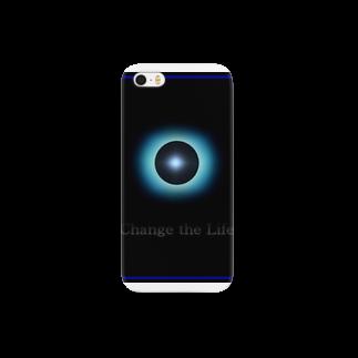 電磁波カット/宇宙効果SpaceArt「Passing」 スマートフォンケース