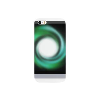 電磁波カット/宇宙効果SpaceArt「時の音色」 スマートフォンケース