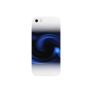 電磁波カット/宇宙効果SpaceArt「ミステリー宇宙」 スマートフォンケース