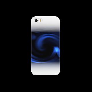宇宙の贈りもの★YasueUenishiの電磁波カット/宇宙効果SpaceArt「ミステリー宇宙」スマートフォンケース