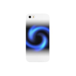 電磁波カット/宇宙効果SpaceArt「瞑想エンブレム」 スマートフォンケース