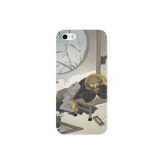 新形三十六怪撰 茂林寺の文福茶釜【浮世絵・妖怪】 Smartphone cases