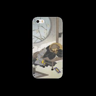 和もの雑貨 玉兎の新形三十六怪撰 茂林寺の文福茶釜【浮世絵・妖怪】 Smartphone cases