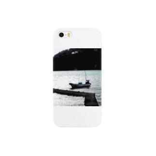 大田子海岸、ヨット Smartphone cases