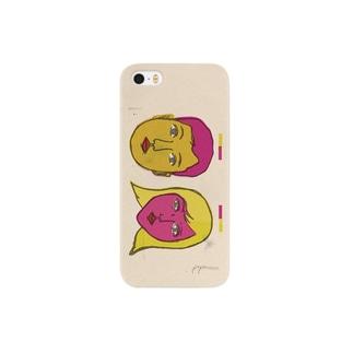 poponasuのリバーシブルカップル Smartphone cases