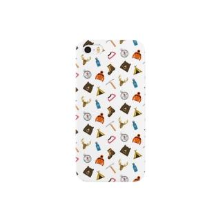 山のアイテム Smartphone cases