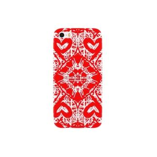 Kissy@Smiley/unelma musta Smartphone cases
