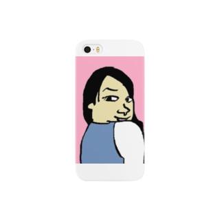 見返りブス Smartphone cases