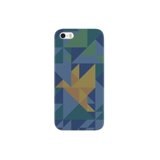 ORIGAMI-BIRD-DKG Smartphone cases