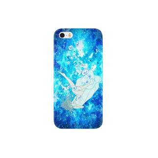 人魚姫になりたかった少女 Smartphone cases