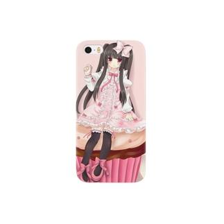 カップケーキの女の子 Smartphone cases