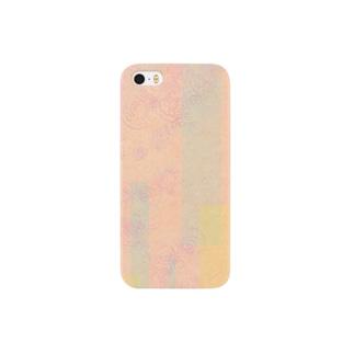 花・ピンク Smartphone cases