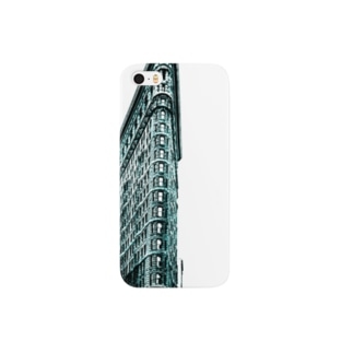 Berenice Abbott: Flatiron Building, Broadway and Fifth Avenue, New York, 1938 Smartphone cases