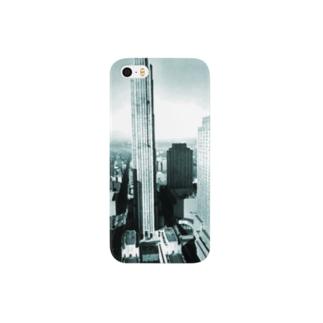Berenice Abbott: Rockefeller Center from 444 Madison Avenue, New York, 1937 Smartphone cases