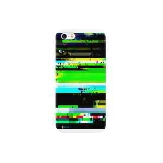 glitch 0-d スマートフォンケース