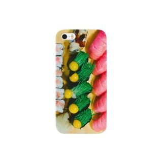 世界一かわいい寿司 Smartphone cases