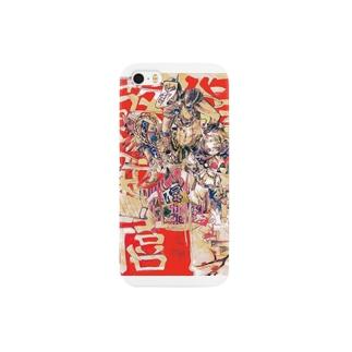 鬼春舞 Smartphone cases